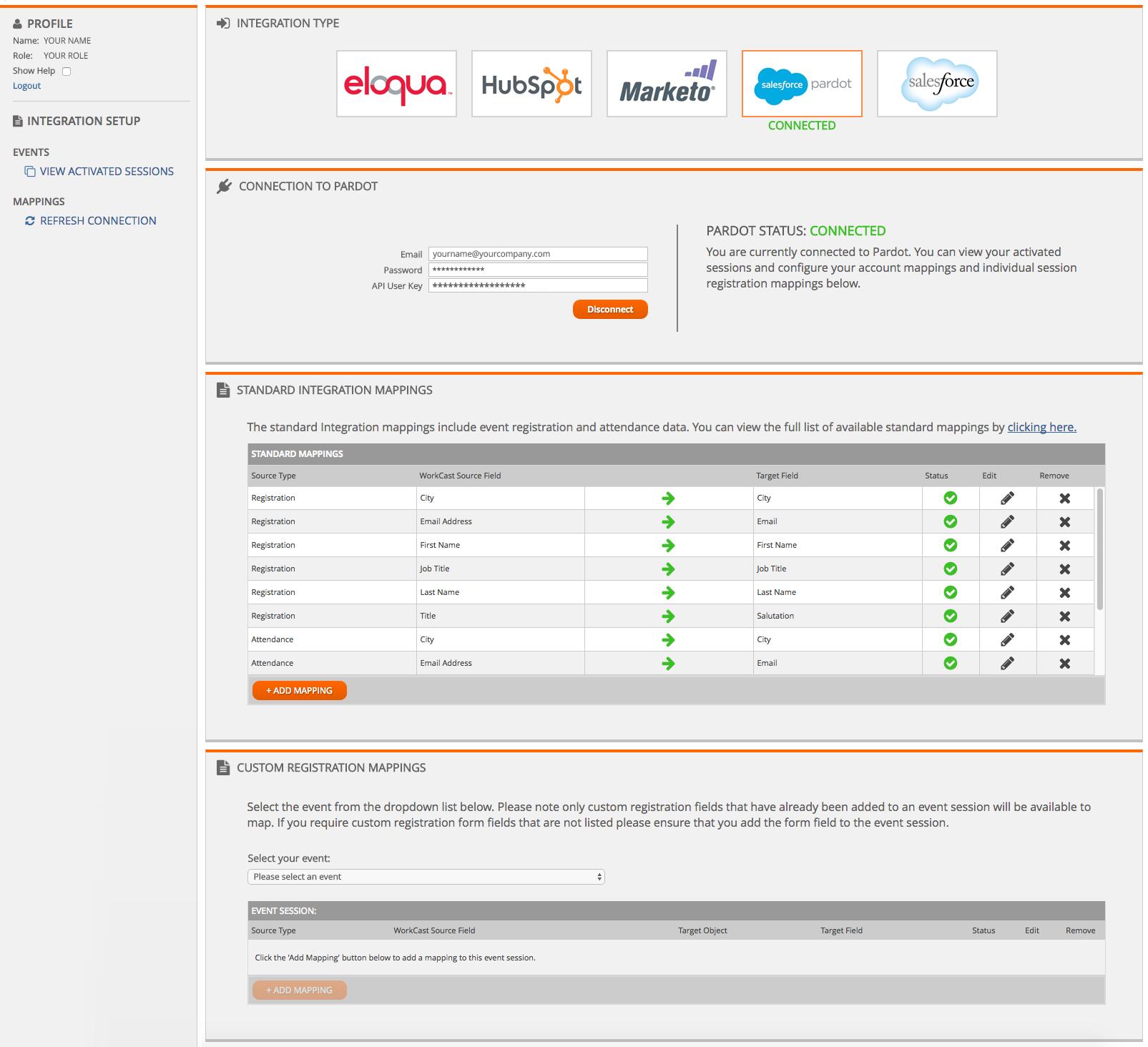 WorkCast Webinar Integration Platform