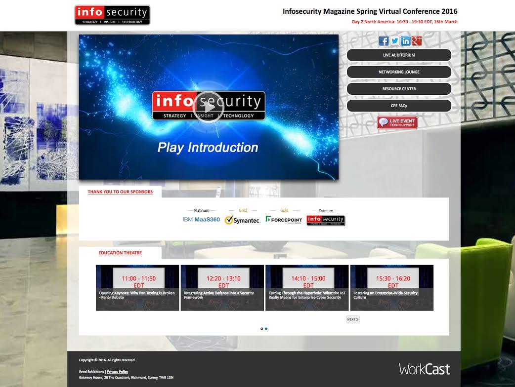 Custom webinar design