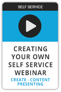 Creating your own self service webinar