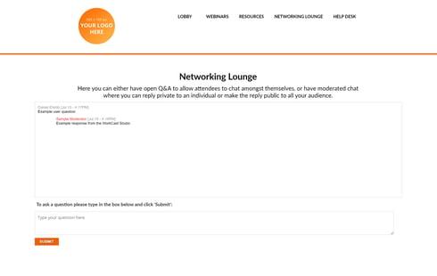 Fresh Networking Lounge